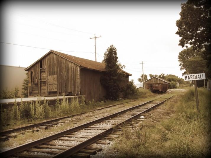 Train track Vignette