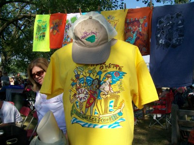 Marquette Waterfront Festival t-shirt 2012