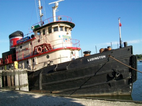 Tug Ludington in Kewaunee