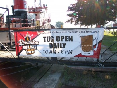 Tug Ludington sign