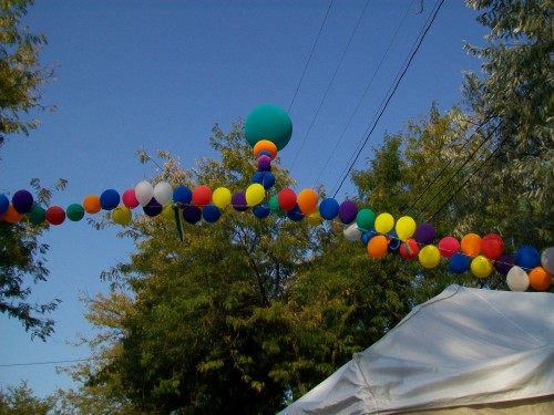 Willy St. Fair Balloon Arch