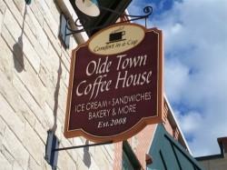 Olde Town Coffee House in Cottage Grove WI