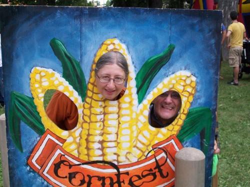 Corn Fest funny pic