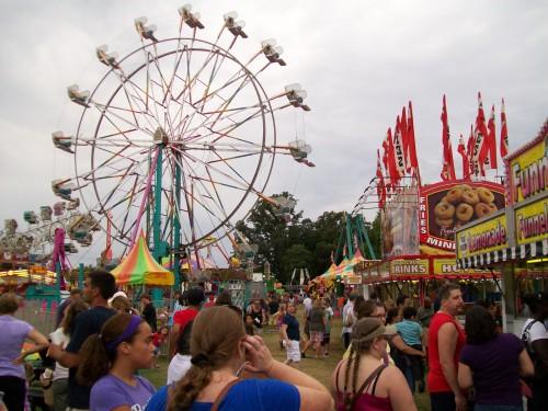 Corn Fest Midway
