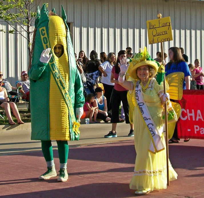 Colonel and Fairy Queen of Corn