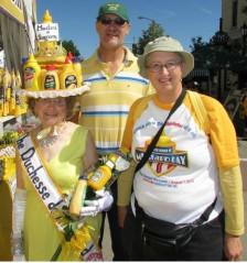 Duchess de Mustard and us
