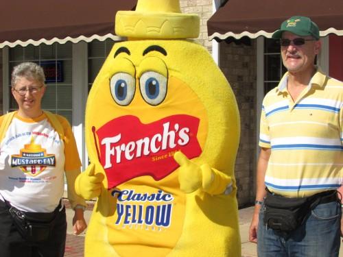 French's Mustard Mascot 8-3-13