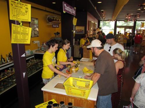Mustard Tasting