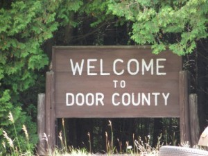 Door County sign