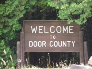 Door County sign