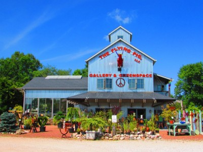 The Flying Pig in Algoma,Wisconsin