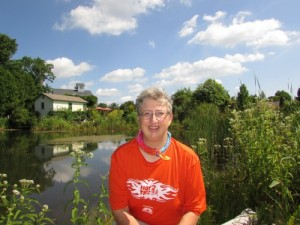 Flying Pig pond and me