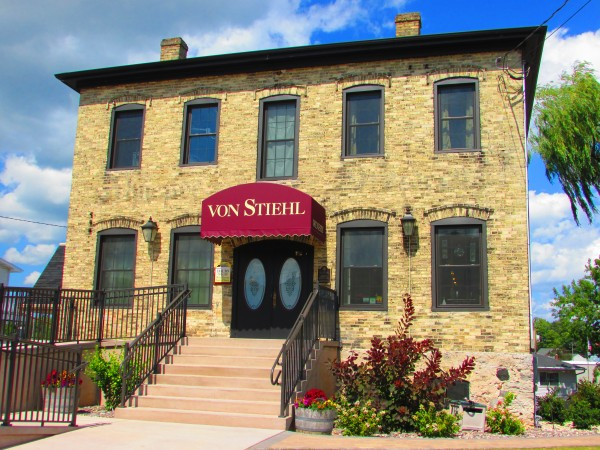 Von Stiehl Winery in Algoma, WI