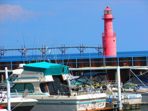 Algoma Lighthouse and Marina