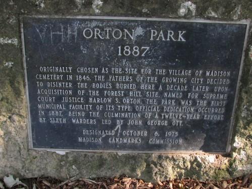 Orton Park history