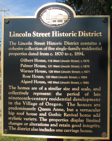 Lincoln Steet Historic District sign
