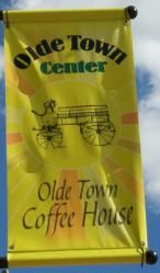 Olde Town Center banner