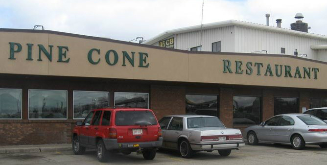 Pine Cone Truck Stop in DeForest