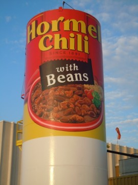 Hormel Chili Can. Photo by Scott Ramlo