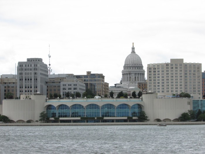 Monona Terrace and Capitol