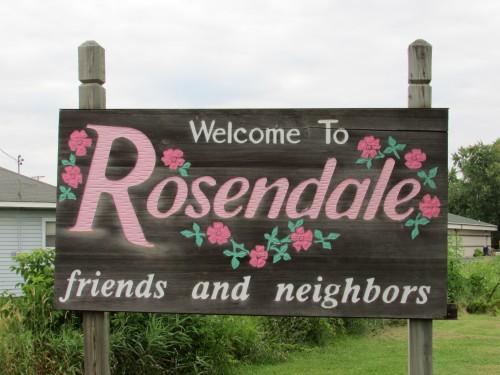 Rosendale sign