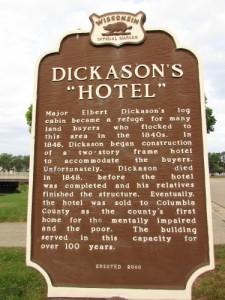 Dickason Hotel marker