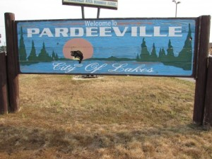 Pardeeville Sign