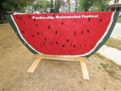 Big watermelon sign