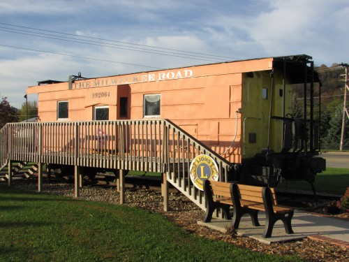 Richland Center caboose