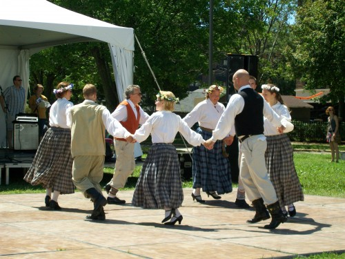 Croatian dancing