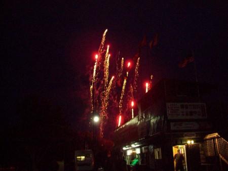 Mallard fireworks