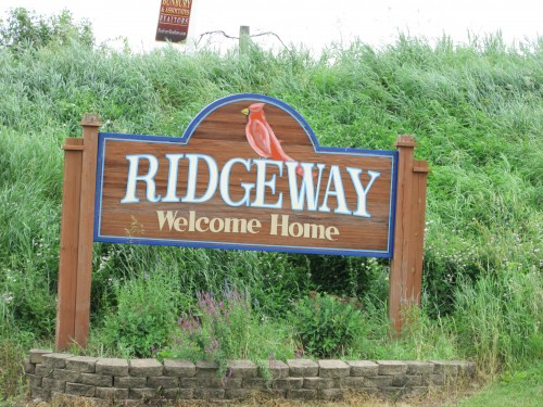 Ridgeway sign