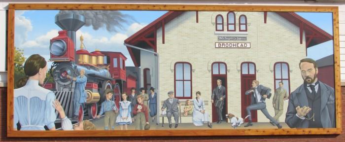 Brodhead mural
