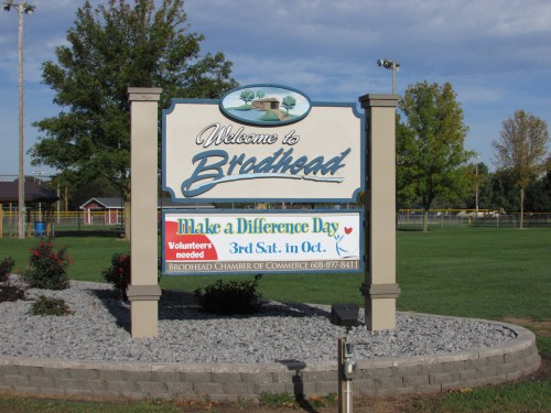 Brodhead sign