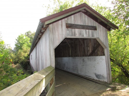 Clarence covered Bridge in Brodhead