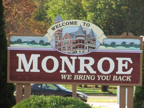 Monroe sign