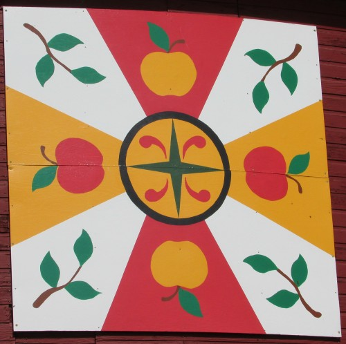 Ten Eyck Barn Quilt