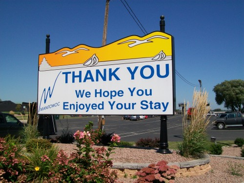 We hope you enjoyed your stay in Manitowoc