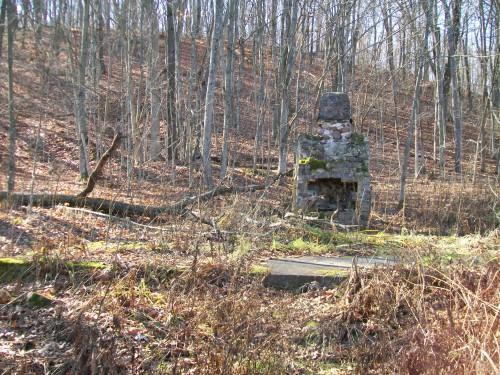 Baxter's Hollow former campsite