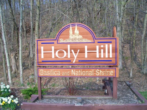 Holy Hill sign
