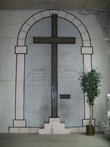Holy Hill Original Cross 1858
