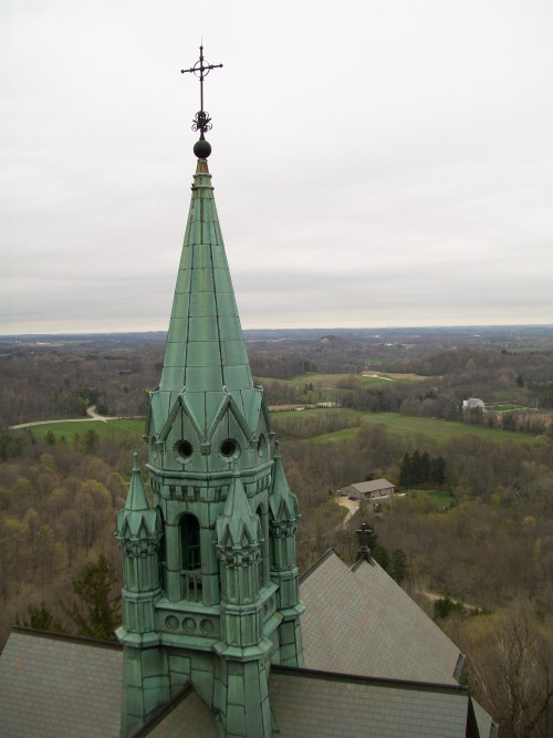Holy Hill copper spire