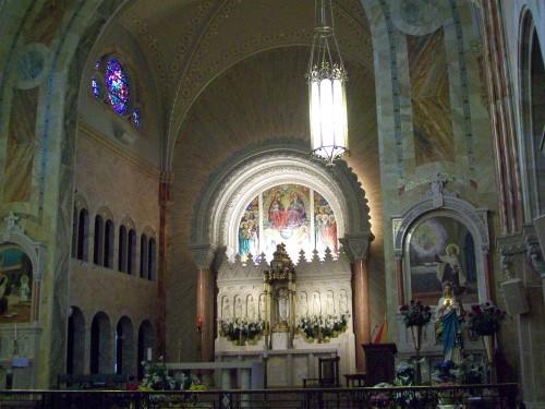 Inside Holy Hill Basillica