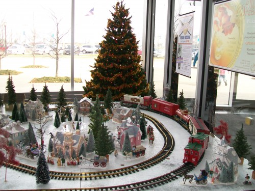 Model Christmas train
