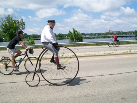 Penny - Farthing bike
