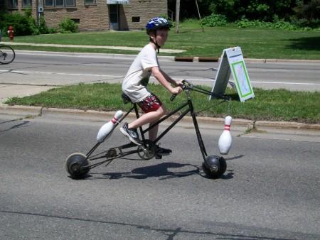 Bowling bike