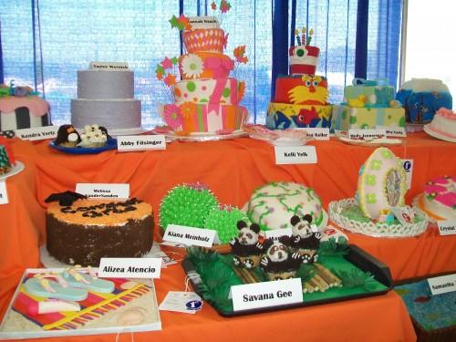 Dane County Fair cakes