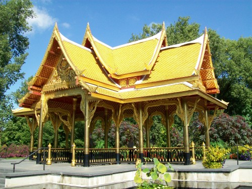 Thai Pavillion at Olbrich Gardens in Madison WI