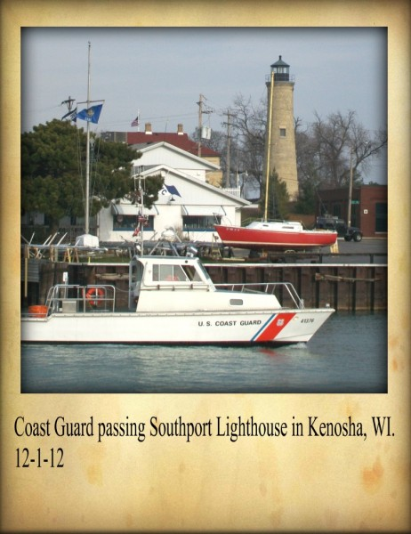 Coast guard in Kenosha 2012