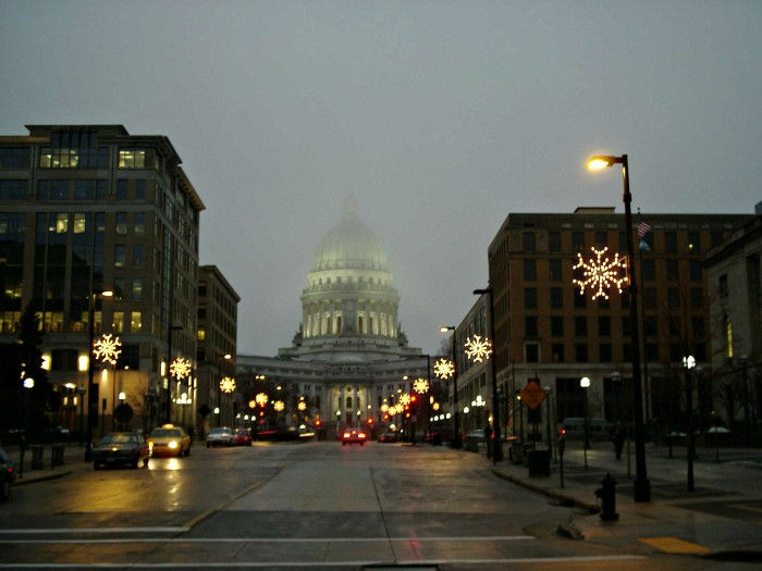 Foggy Madison Capitol 2006